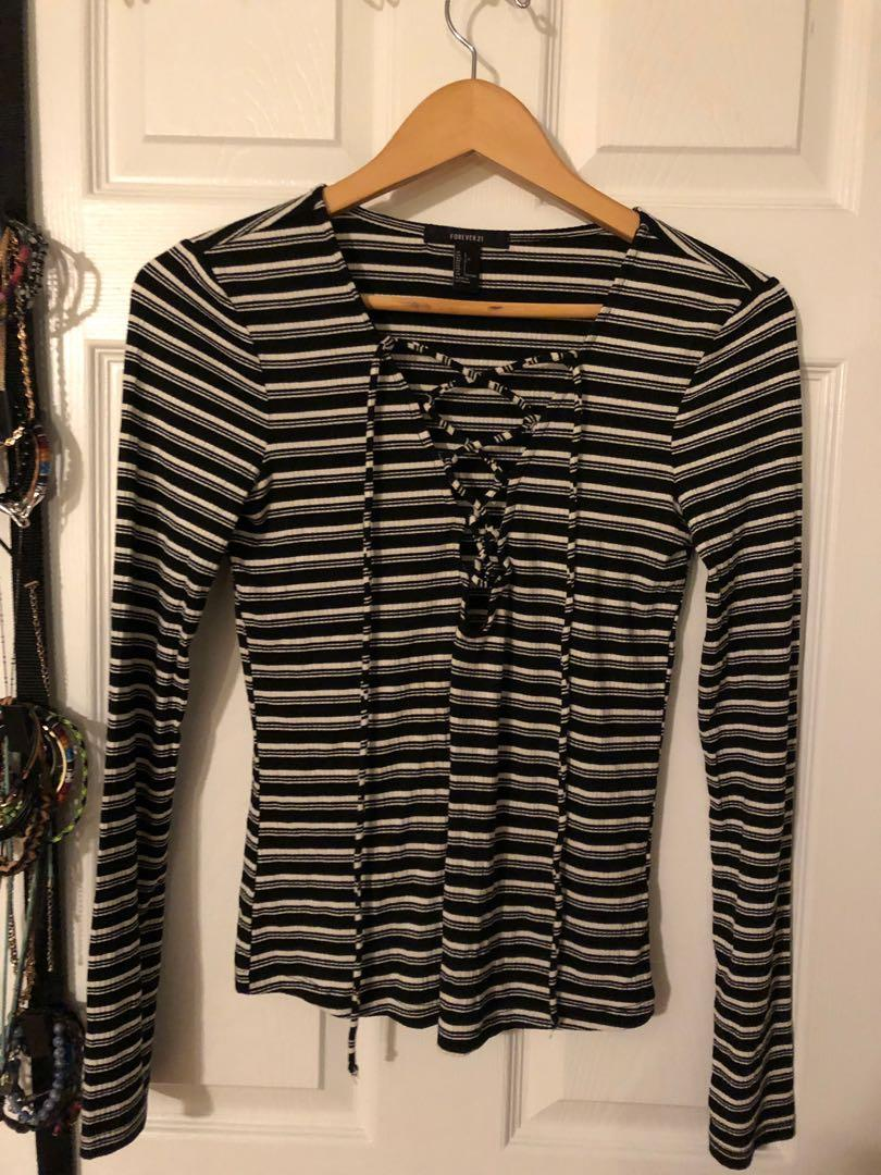Forever 21 long sleeve - size large only worn once!