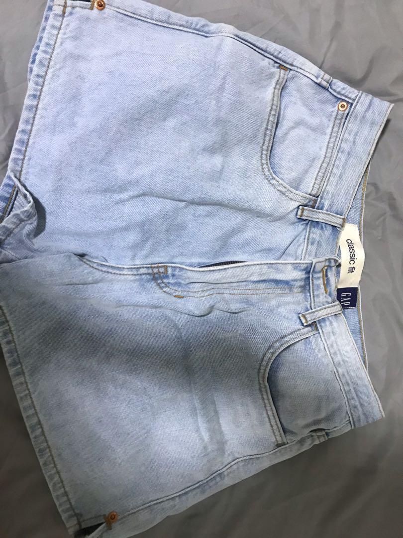 4be1e9677 Gap Vintage Denim Shorts, Women's Fashion, Clothes, Pants, Jeans ...