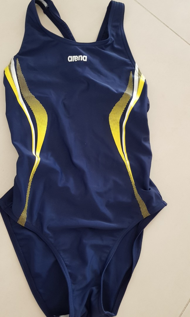 4190549c6ea48 Girls swimming costume Arena, Sports, Sports Apparel on Carousell