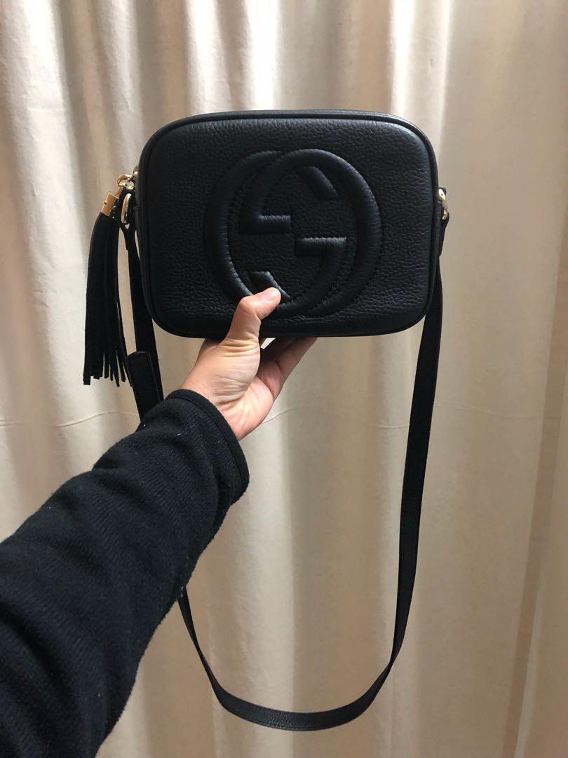 Gucci soho disco bag+ folli follie 長夾