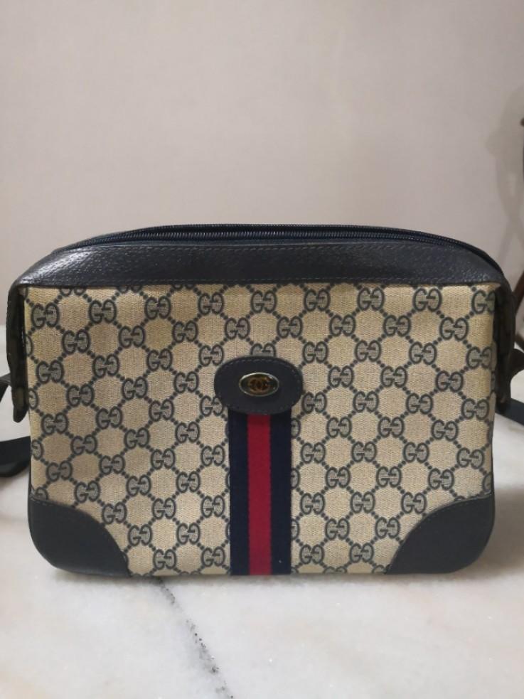 c6e0d2d6f64 Gucci Vintage Sling Bag