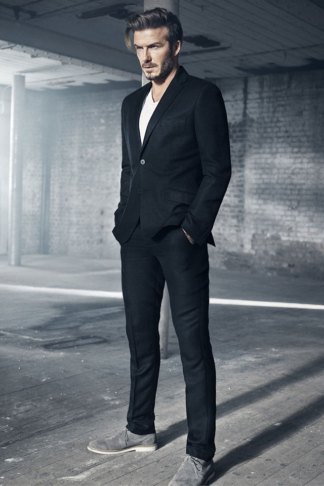 David Beckham Blazer