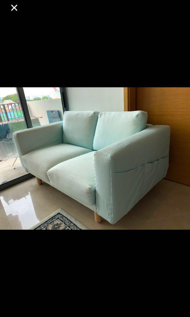On BlueFurnitureSofas Carousell Seated Ikea 2 Norsborg Sofababy FKJ1cl