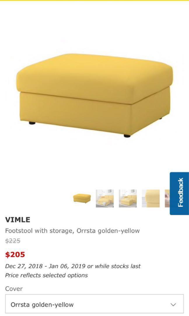 ikea sofa vimle footstool c7c08e5a progressive