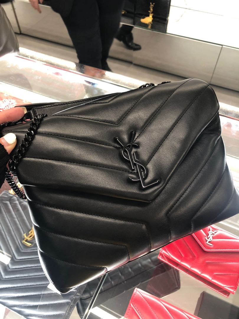 d9aed1a2d83 Instock 💯 Authentic YSL LouLou Small Bag, Luxury, Bags & Wallets ...