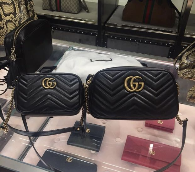 47afb26e4cd Instocks 💯 Authentic Gucci Marmont Camera Bag