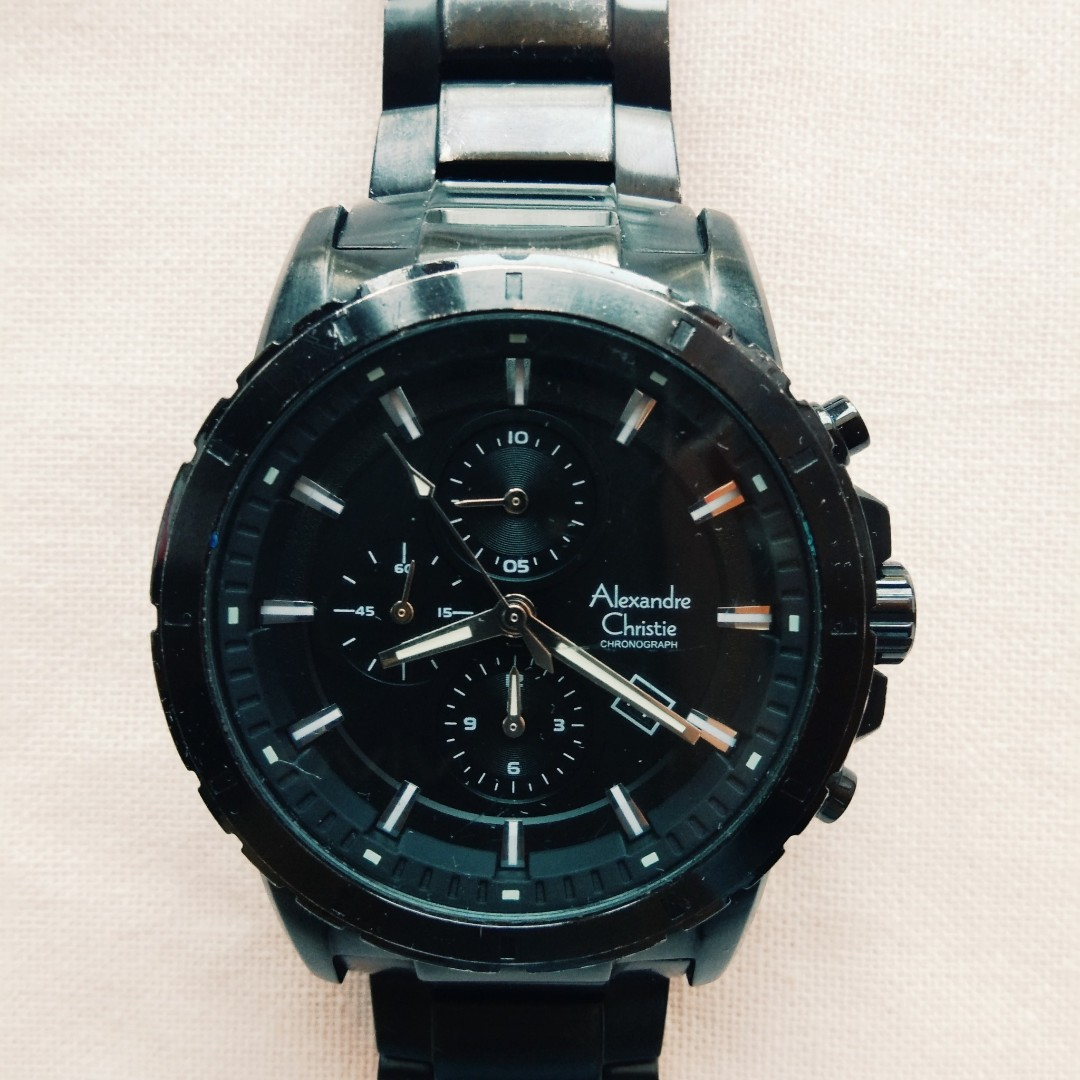 Jam Tangan Pria Alexander Christie 6439 MC , Men's Fashion, Men's Watches on Carousell