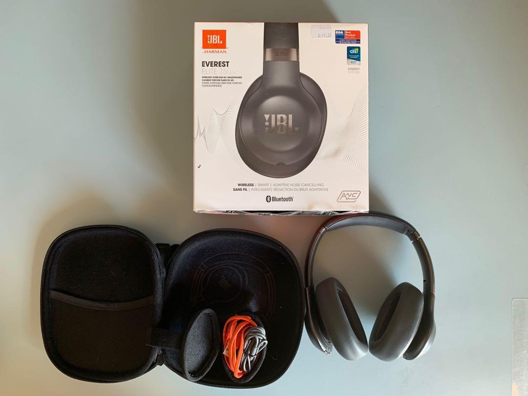 JBL Everest Elite 750NC Wireless Adaptive Noise Cancelling Headphones