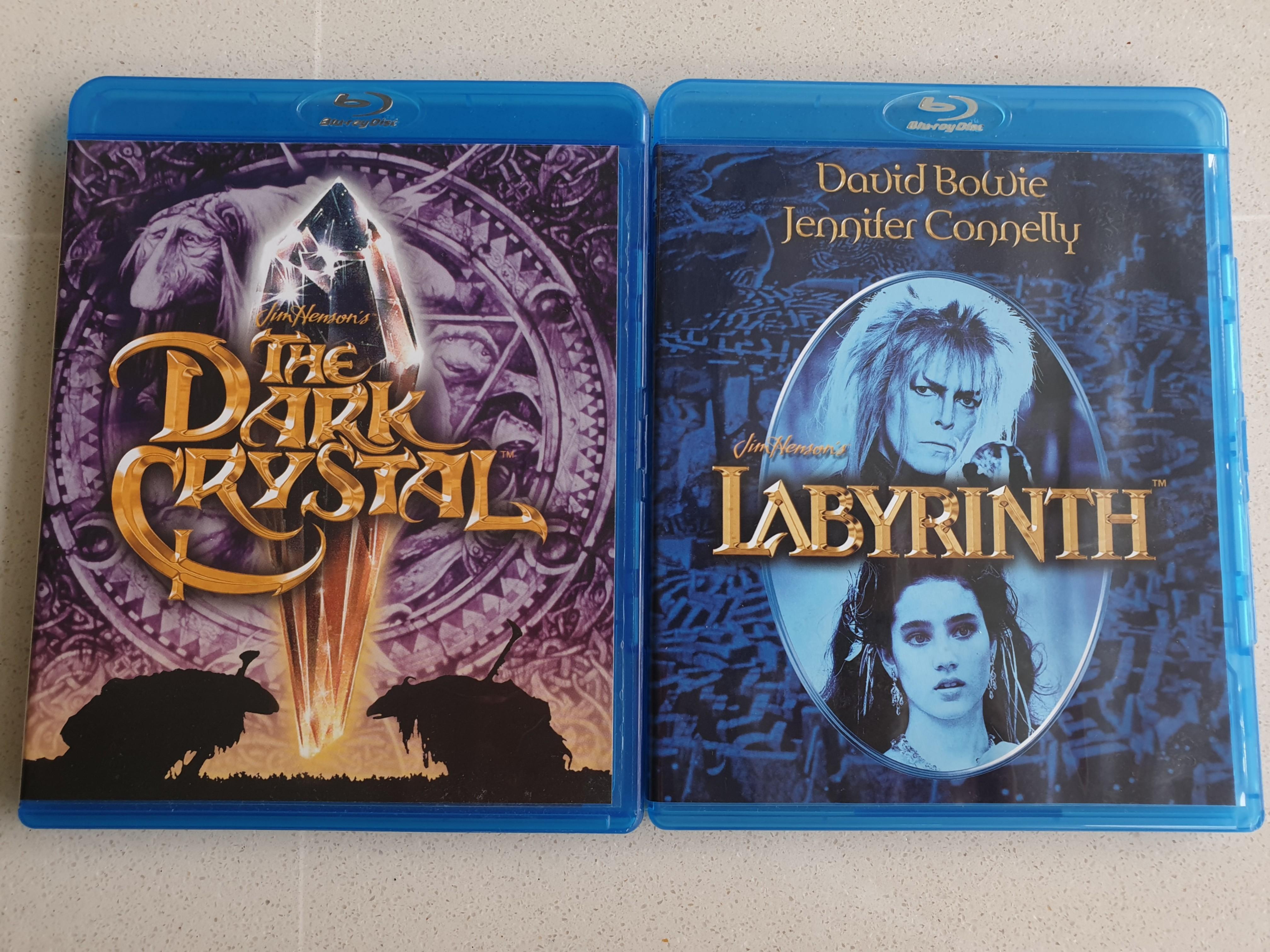 Jim Henson's Movie Collection (Labyrinth & The Dark Crystal)