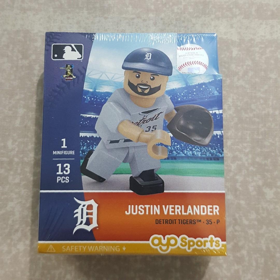 a9e8e544 Legit Brand New With Box OYO Sports MLB Justin Verlander Detroit ...