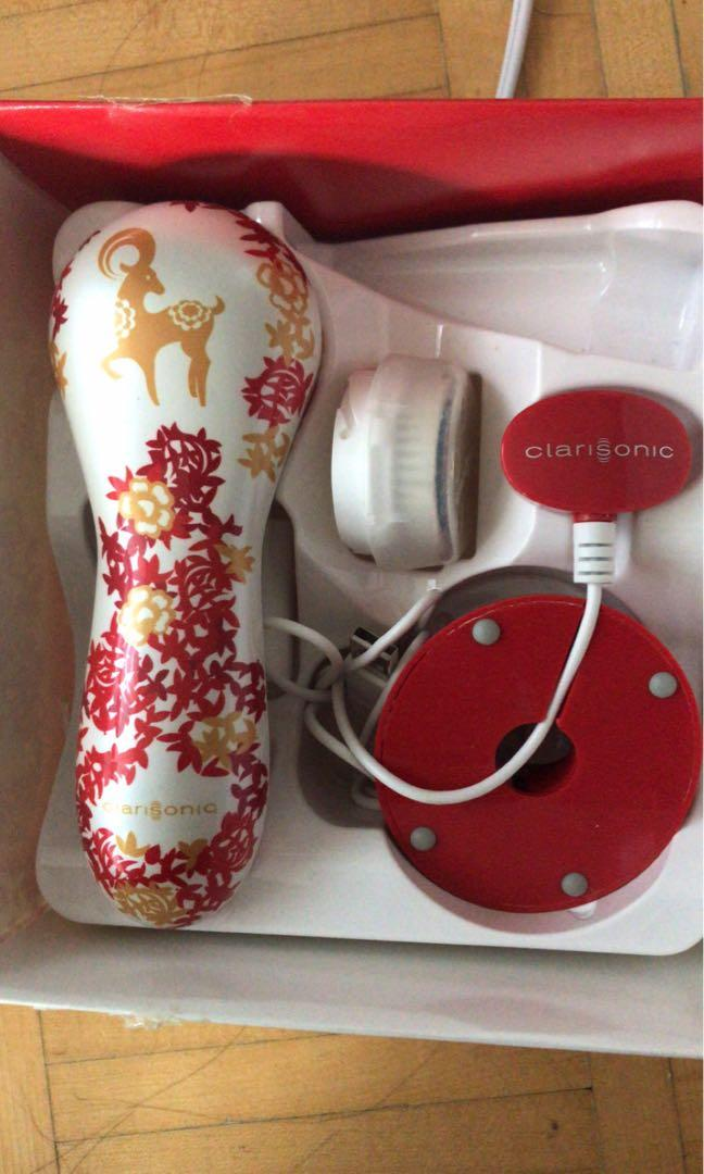 Limited Edition Clarisonic Face brush with new brush