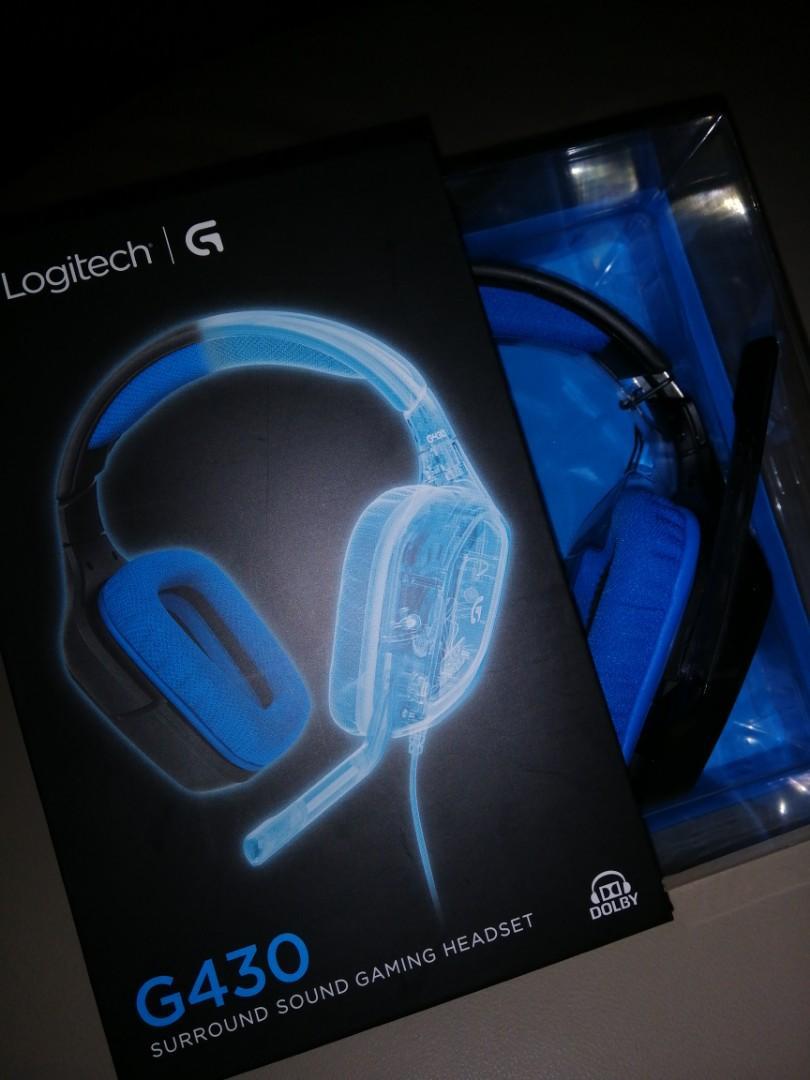Logitech G430 headset, Toys & Games, Video Gaming, Gaming