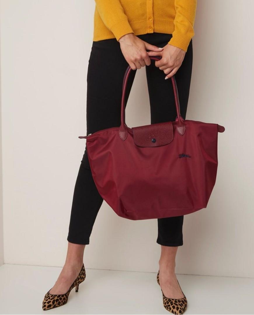 9550afe4a92 Longchamp Le Pliage Club Large Tote   Shoulder Bag