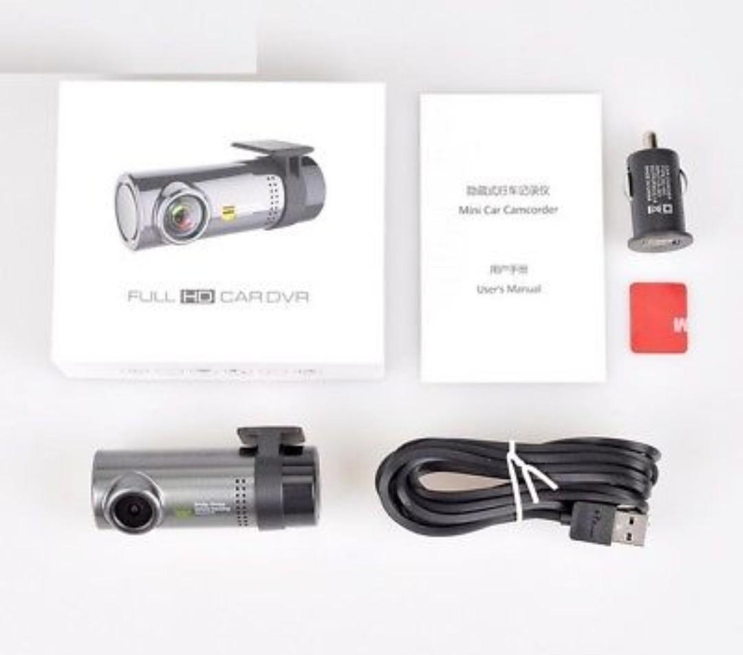 Mini Wireless Hidden Car Dash Cam DVR APP Monitor WiFi Car