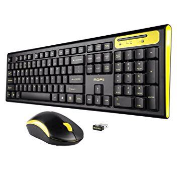 cdca6b2ec2b MOFII Comb Full Size Wireless Keyboard and Mouse Combo Set ...