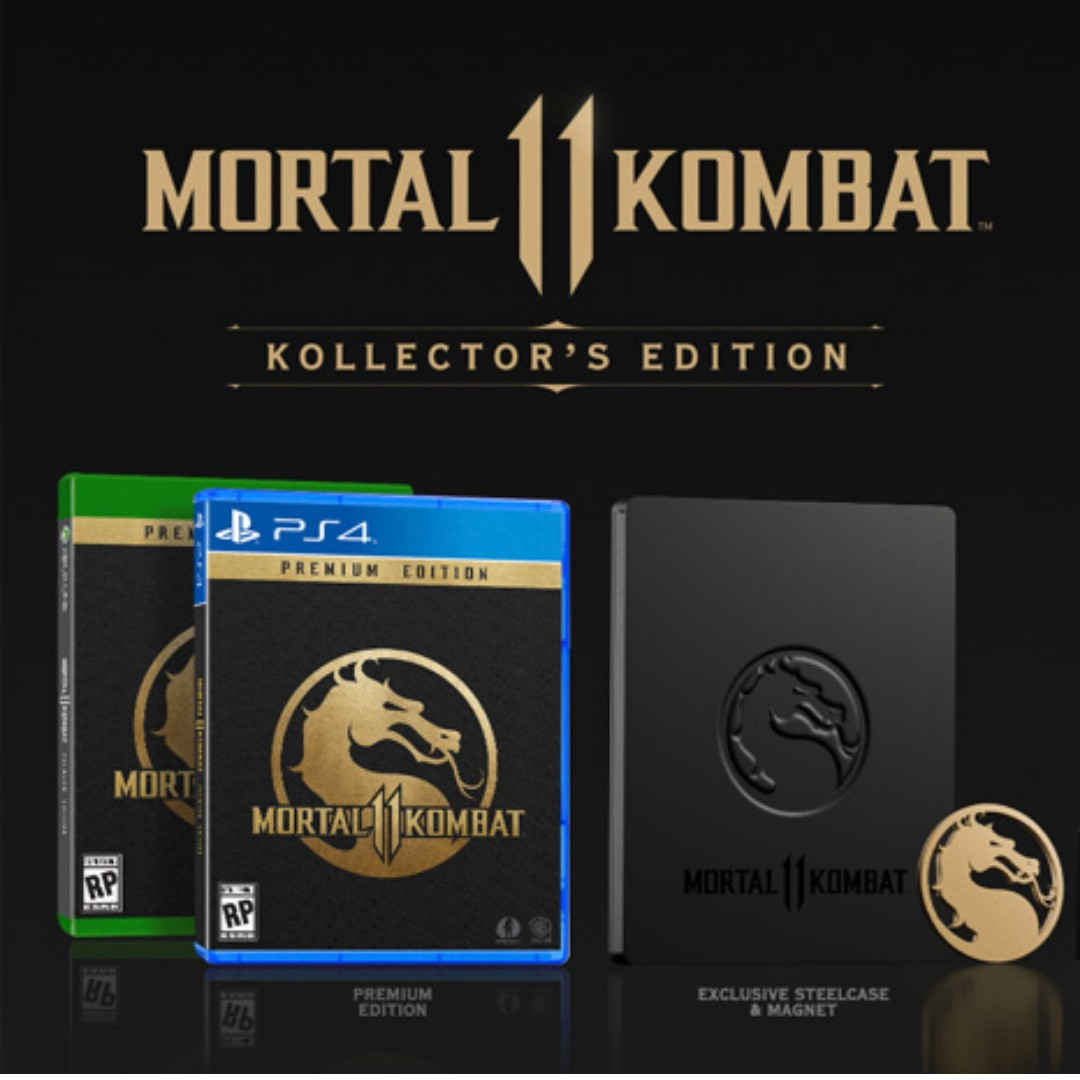 Mortal Kombat 11 Collector S Edition Toys Games Video Gaming Video Games On Carousell