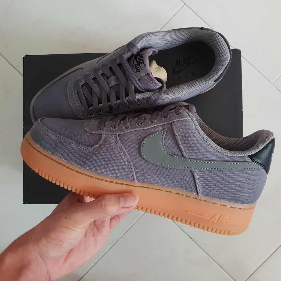 91c881fc0fa FINAL SALE! US9 Nike Air Force 1 '07 Lv8 Style Flat Pewter Sneakers ...