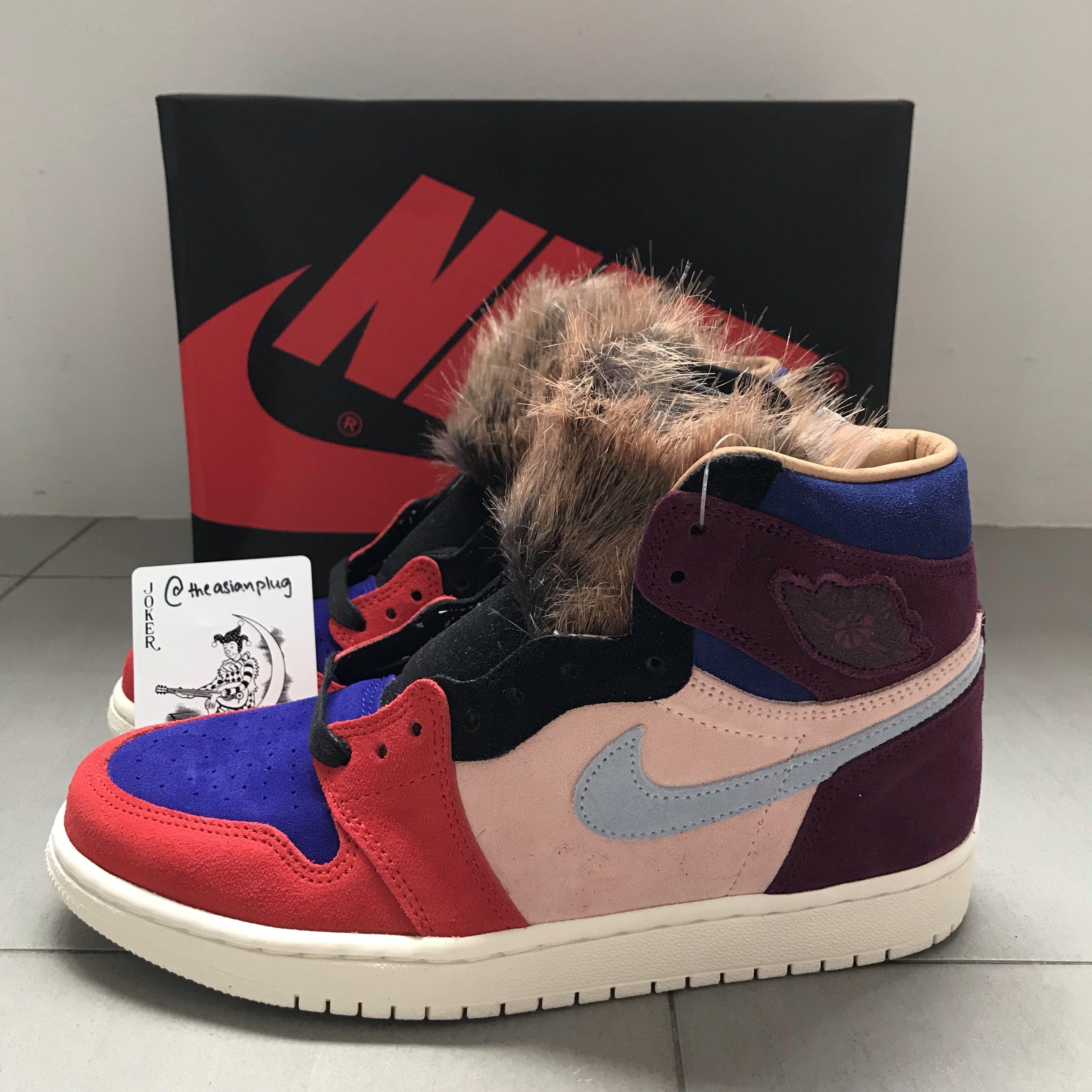c7d4642c76783d Nike Jordan 1 Retro High Aleali May Court Luxe (W)