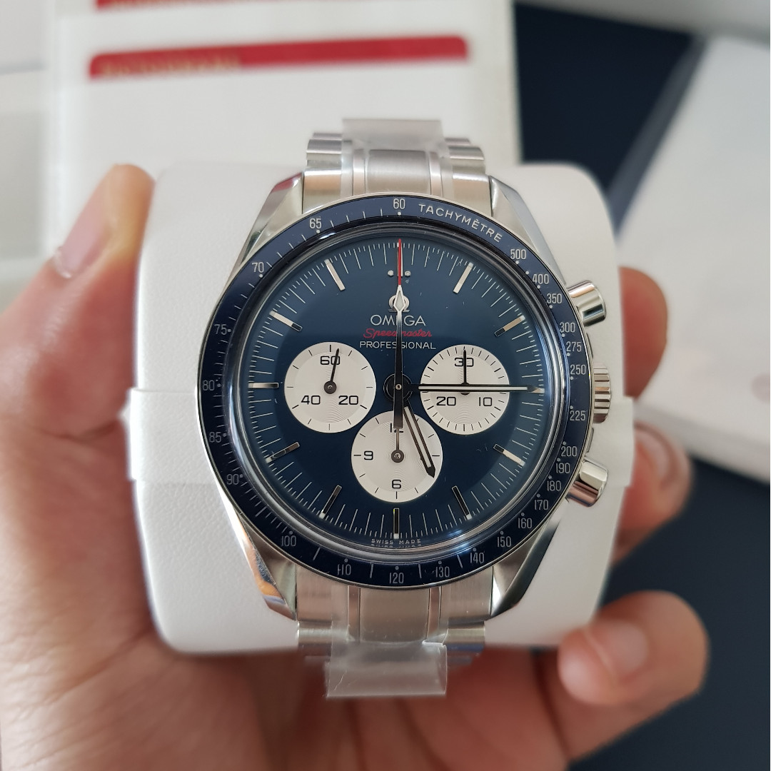 Omega Speedmaster Tokyo Olympics 2020 Blue Dial Limited Edition