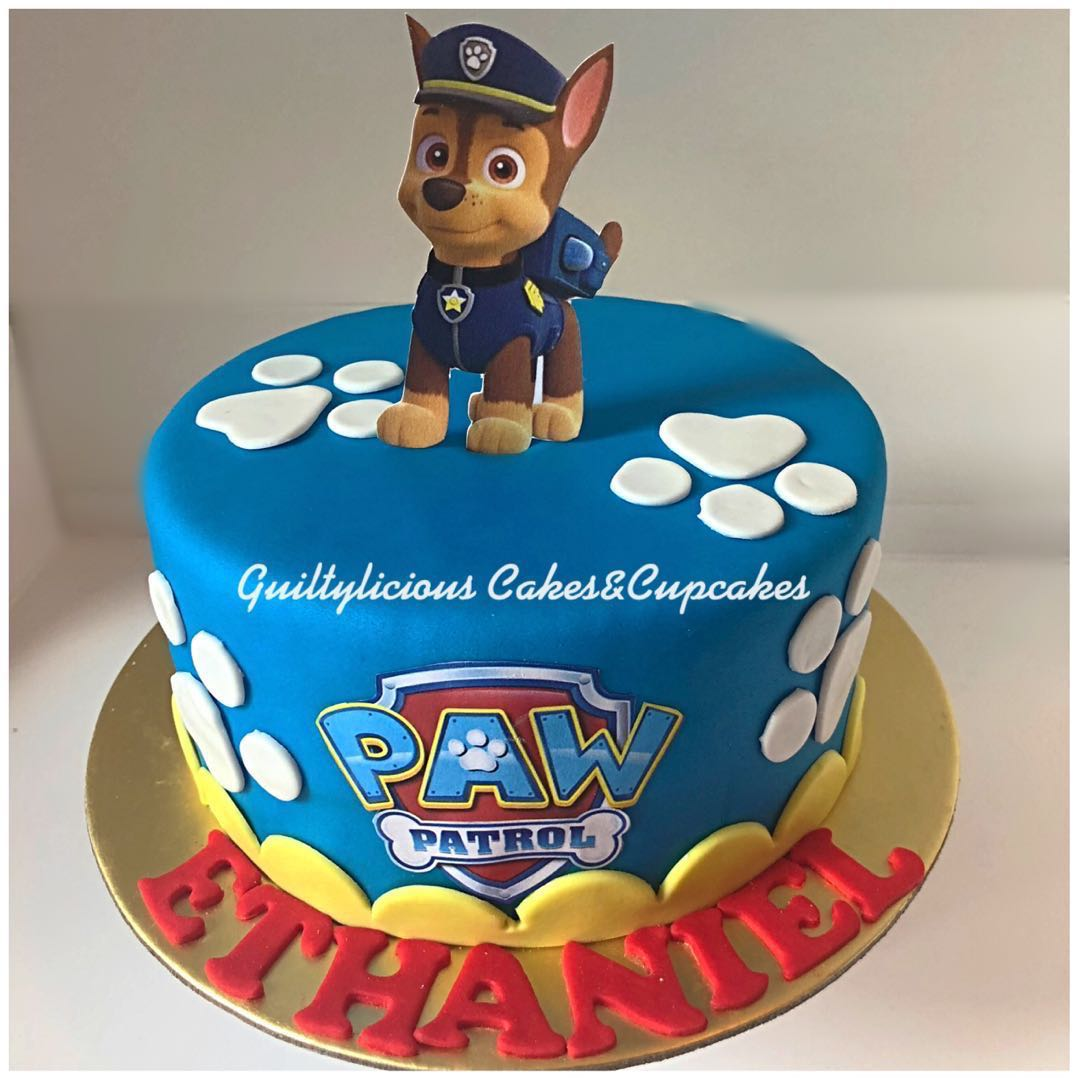 Paw Patrol Cakes Food Drinks Baked Goods On Carousell