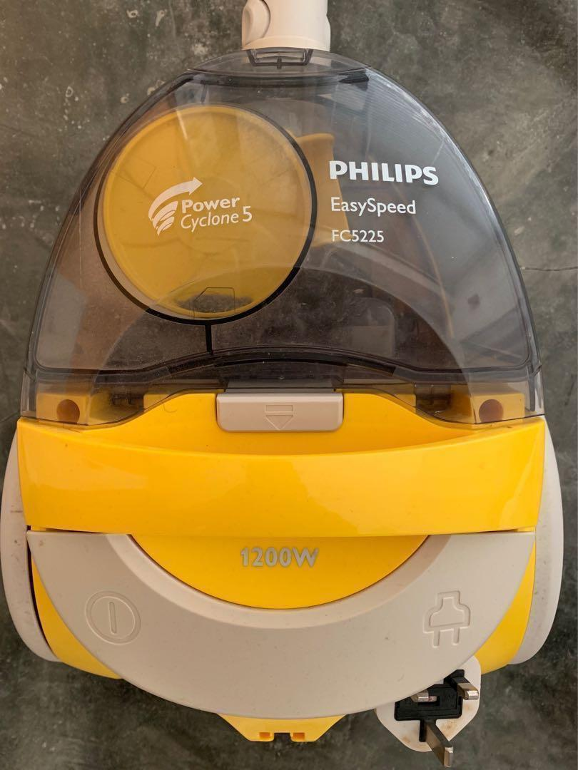 Philips bagless vacuum Speed Easy FC 5225 無塵袋 吸塵機