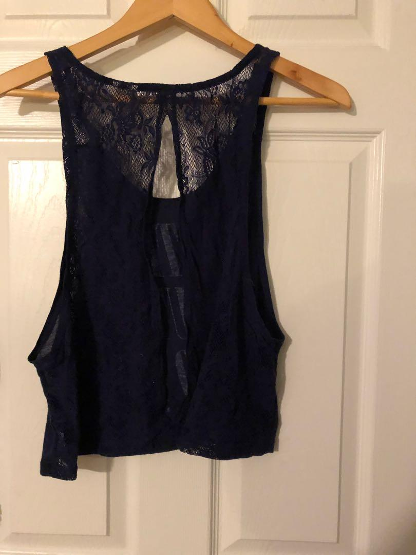 Pink by VS cut off -size small, fits big