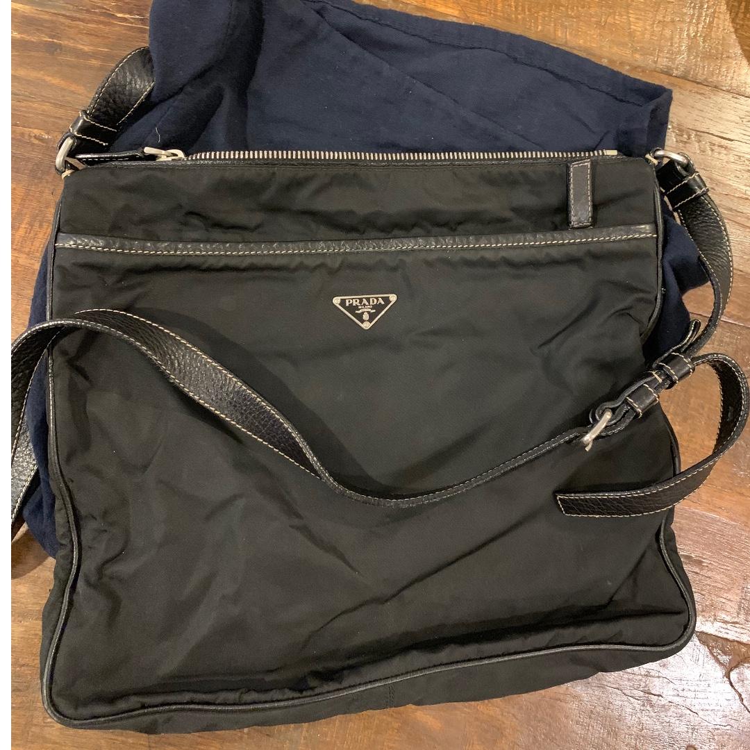 f10b09244dc8 Prada mens messenger bag, Men's Fashion, Bags & Wallets, Sling Bags ...