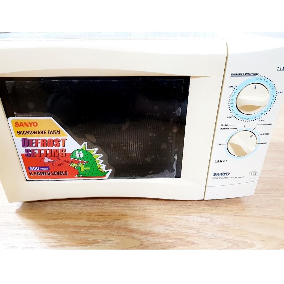 Sanyo Microwave Oven Tv Home
