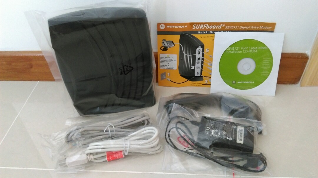 sbv5121 voip cable modem cd rom