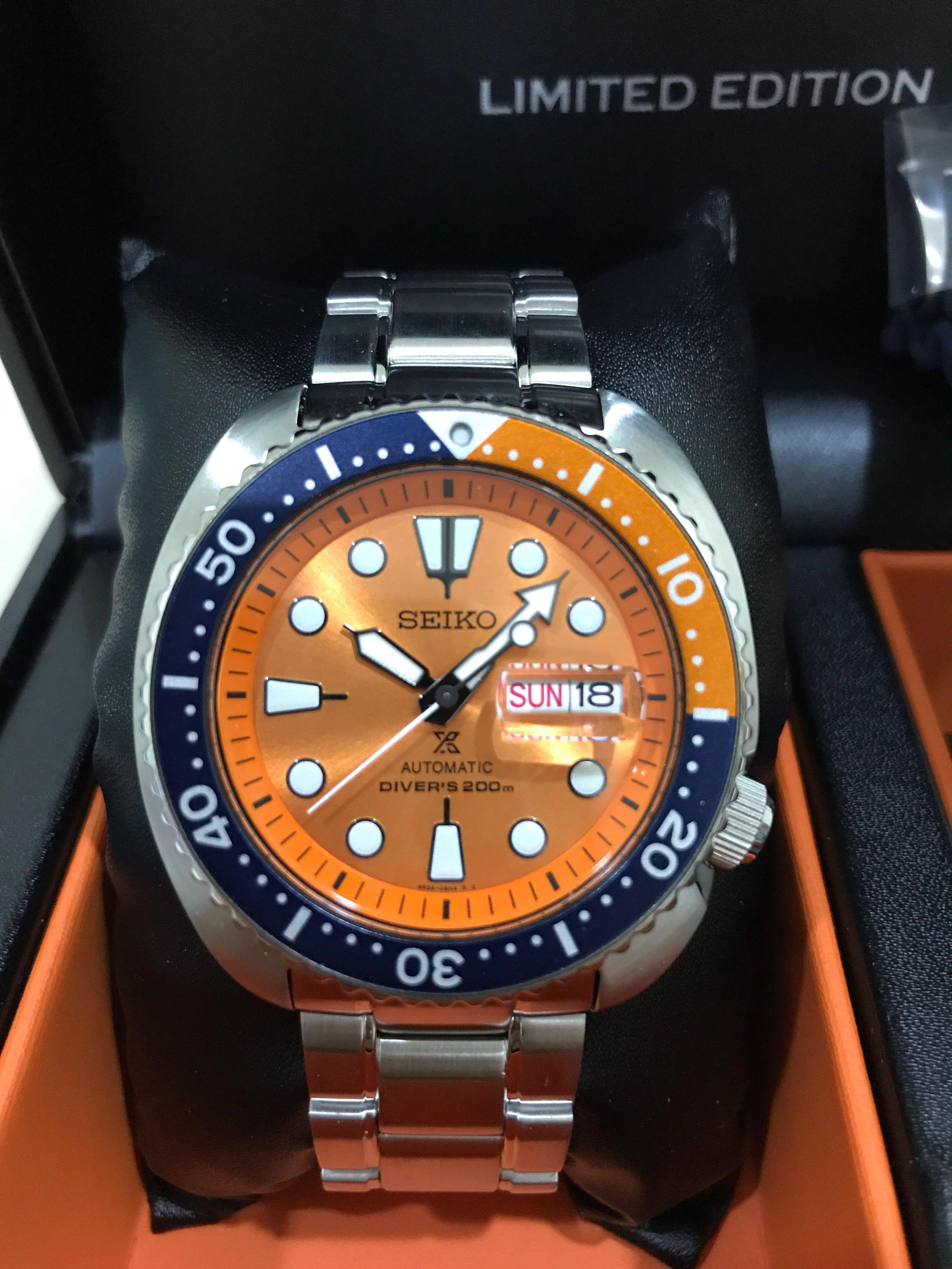 wholesale dealer 18d01 7c0a0 Seiko Limited Edition turtle SRPC95K1, Luxury, Watches on ...