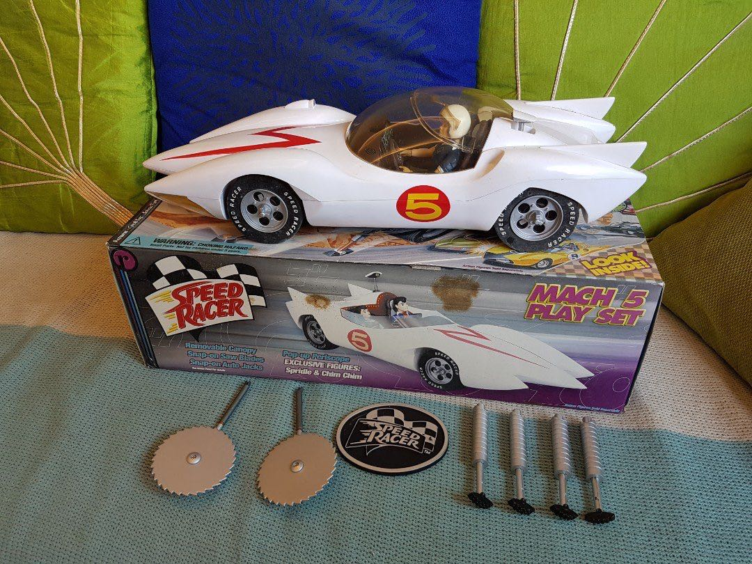 Speed racer mach 5 playset toys games others on carousell