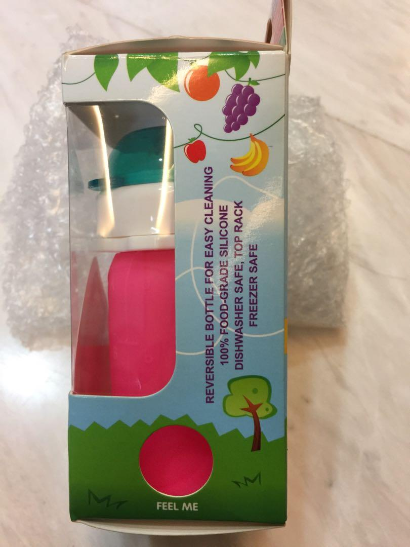 Squeasy Reusable Food Pouch (suitable 6mths and above)