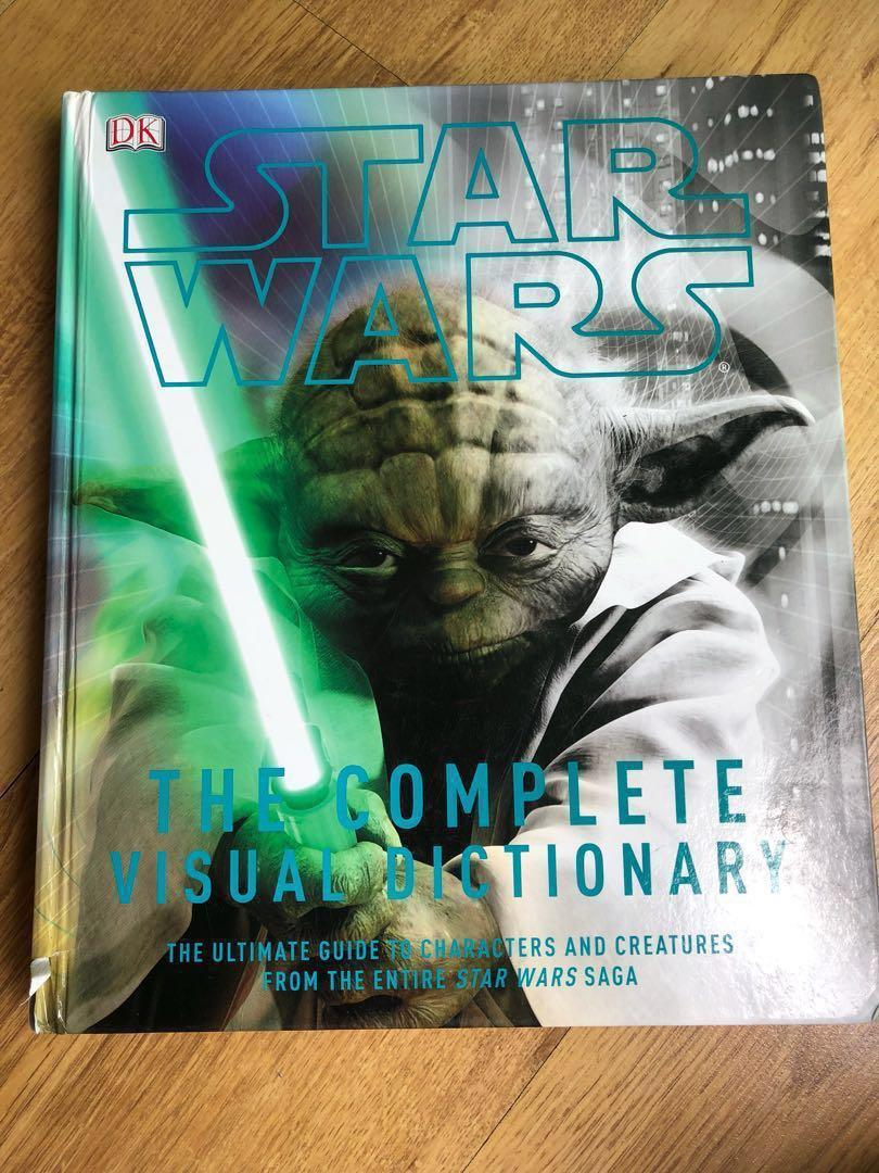 Star Wars: The Complete Visual Dictionary, Books