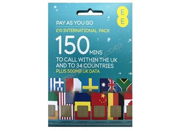 UK Simcard (new pack)
