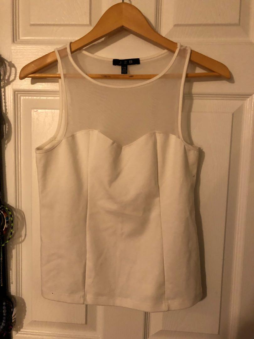 Urban planet sleeveless top- never worn! Size large