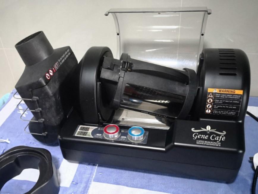 USED Gene Cafe CBR-101 Home Coffee Roaster 250gm Capacity