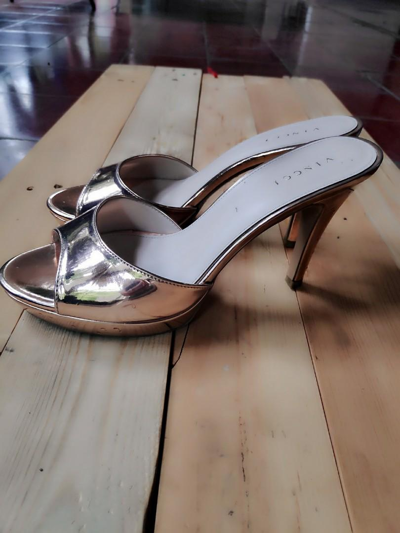 Vinnci high heel rose gold original