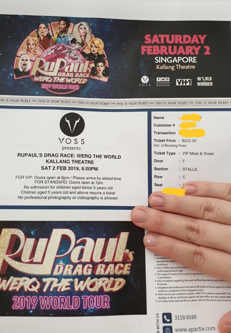 Vip Meet And Greet Rupauls Drag Race Werq The World 2019 Tour