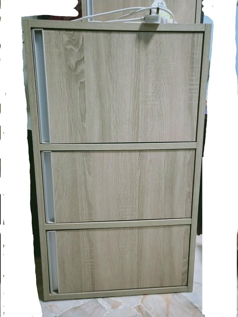 Wooden Cabinet 3 drawers