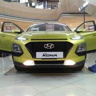 Hyundai KONA new driving adventure start 5OK 5OK 5OK apply now and feel the comfort of driving/O956-7292251
