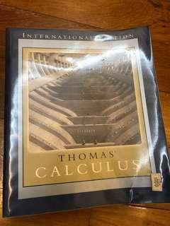 🚚 Thomas Calculus 11th Edition