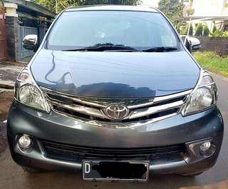 Toyota New Avanza G 1.3 Manual Thn 2014 Plat D(Bandung)