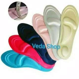 Insole sepatu unisex 4D