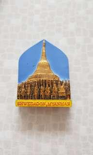 Myanmar Fridge Magnet