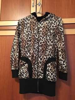 時尚豹紋外套