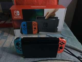Nintendo Switch Complete Package with Free Digital Games