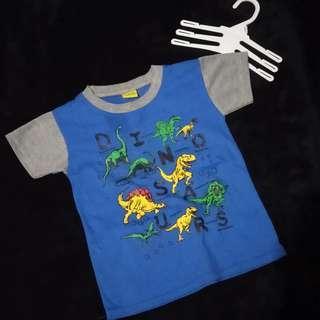 Baju kaos anak dinosaurus // dinosaurs kids t-shirt