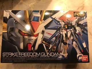 Bandai RG Strike Freedom Gundam