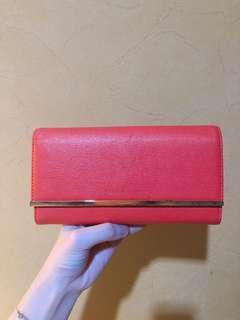 Charles & Keith Red Wallet