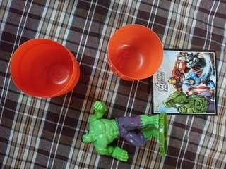 歐洲限定 kinder 出奇蛋 marvel hulk (not hottoys)